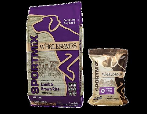 Sportmix Wholesomes cordero  y arroz para perro