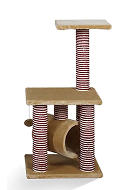 Mueble para gato con tunel 85 cm
