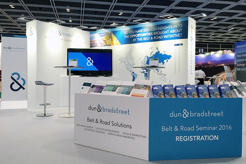 Belt and Road booth design