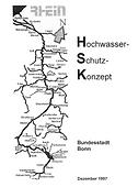 Hochwasserschutzkonzept Stadt Bonn 1997