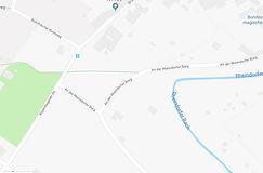 Bachverlauf, Straßen und Wege 2019