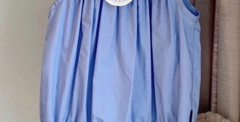 Scarlett Romper Blue