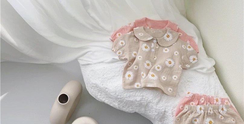 Daisy Top and Bloomer Beige