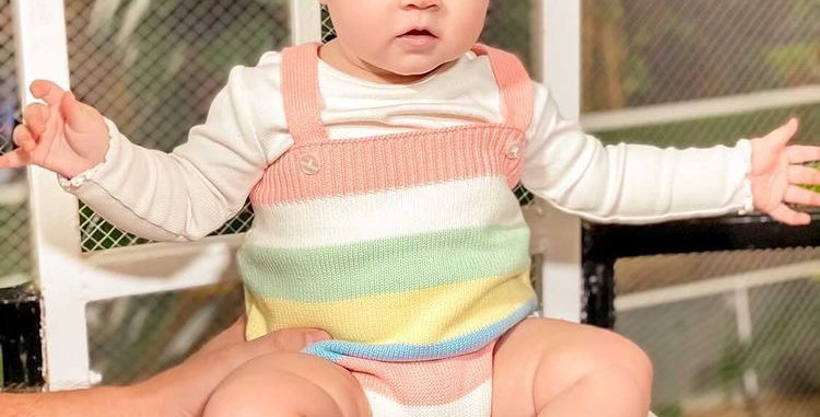 Lewis Knitted Romper