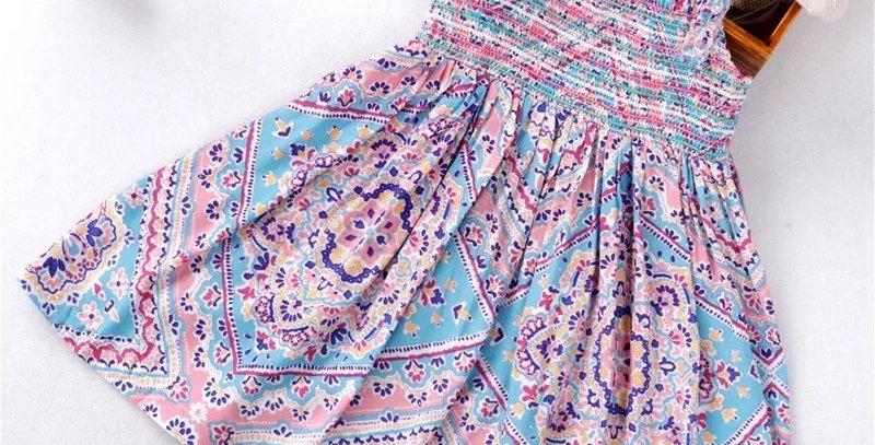 Belinda Smocked Dress