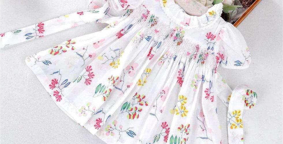 Arianne Smocked Dress