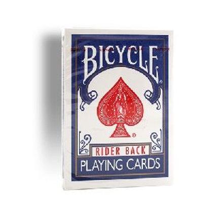 Bicycle Rider back - Old Case Blue back