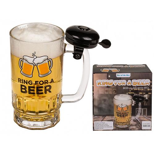 Copo Cerveja com Campainha