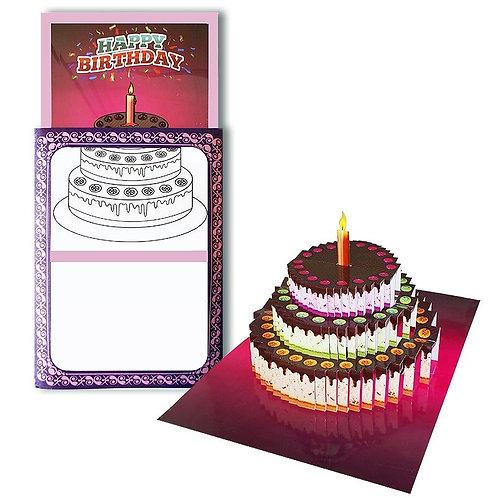 3D Birthday Card Surprise
