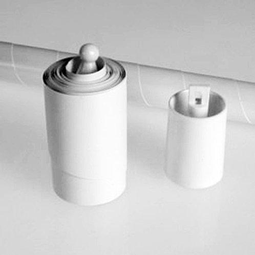 Bastão Desaparição Plástico - Branco