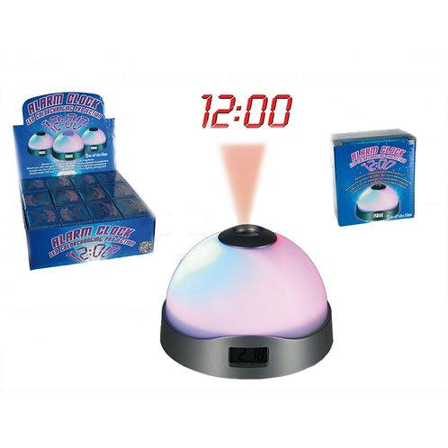 Relógio Despertador LED com Projector