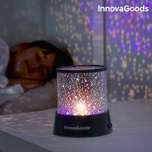 Projector de Luz com Estrelas LED