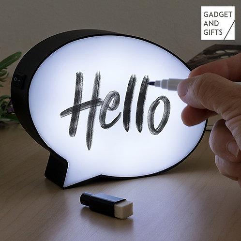 Lâmpada LED Sanduíche com Marcador