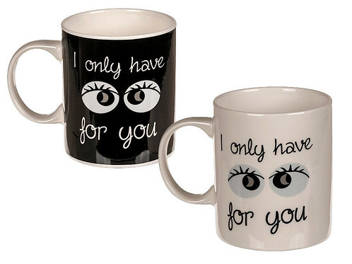 """Caneca """"I only have eyes for you"""""""