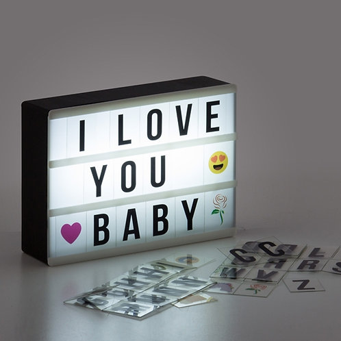 Painel LED Retroiluminado (10 x 15 cm)