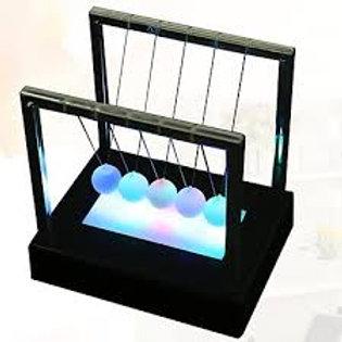Bolas Newton com LEDS