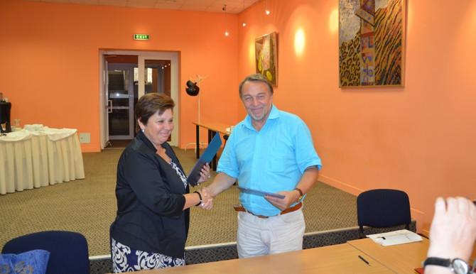 Arodbiedrība LVIPUFDA paraksta sadarbības līgumu ar Lietuvas kolēģiem