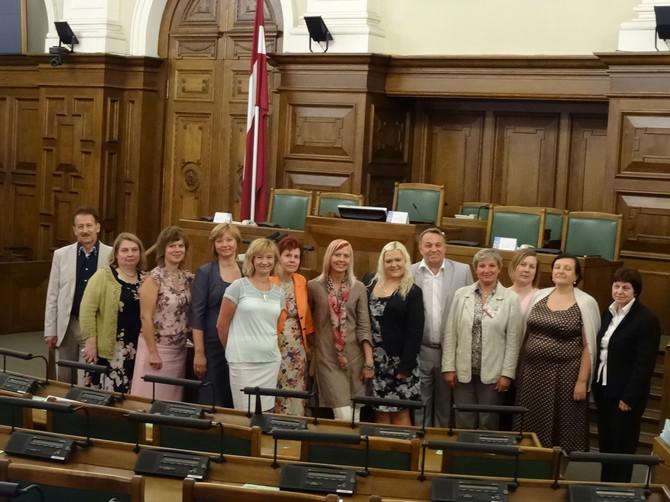 Arodbiedrības Valdes sēde Saeimā