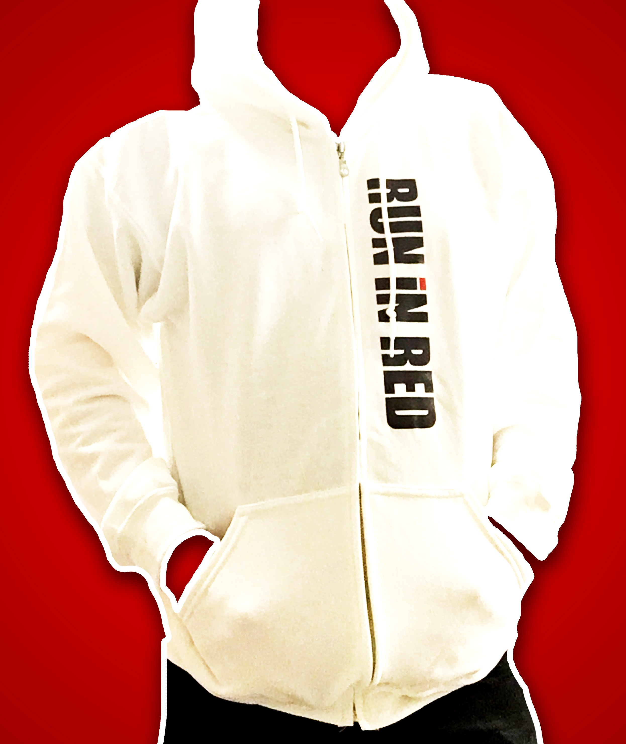 RUN iN RED Merch hoodies