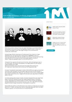 Rir PRESS Imro IMRO press release 101 creative management
