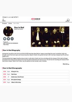 RUN iN RED PRESS eirewave profile