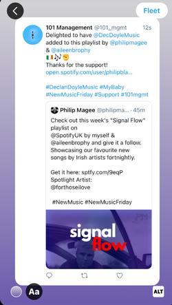 'Signal Flow' Playlist Add