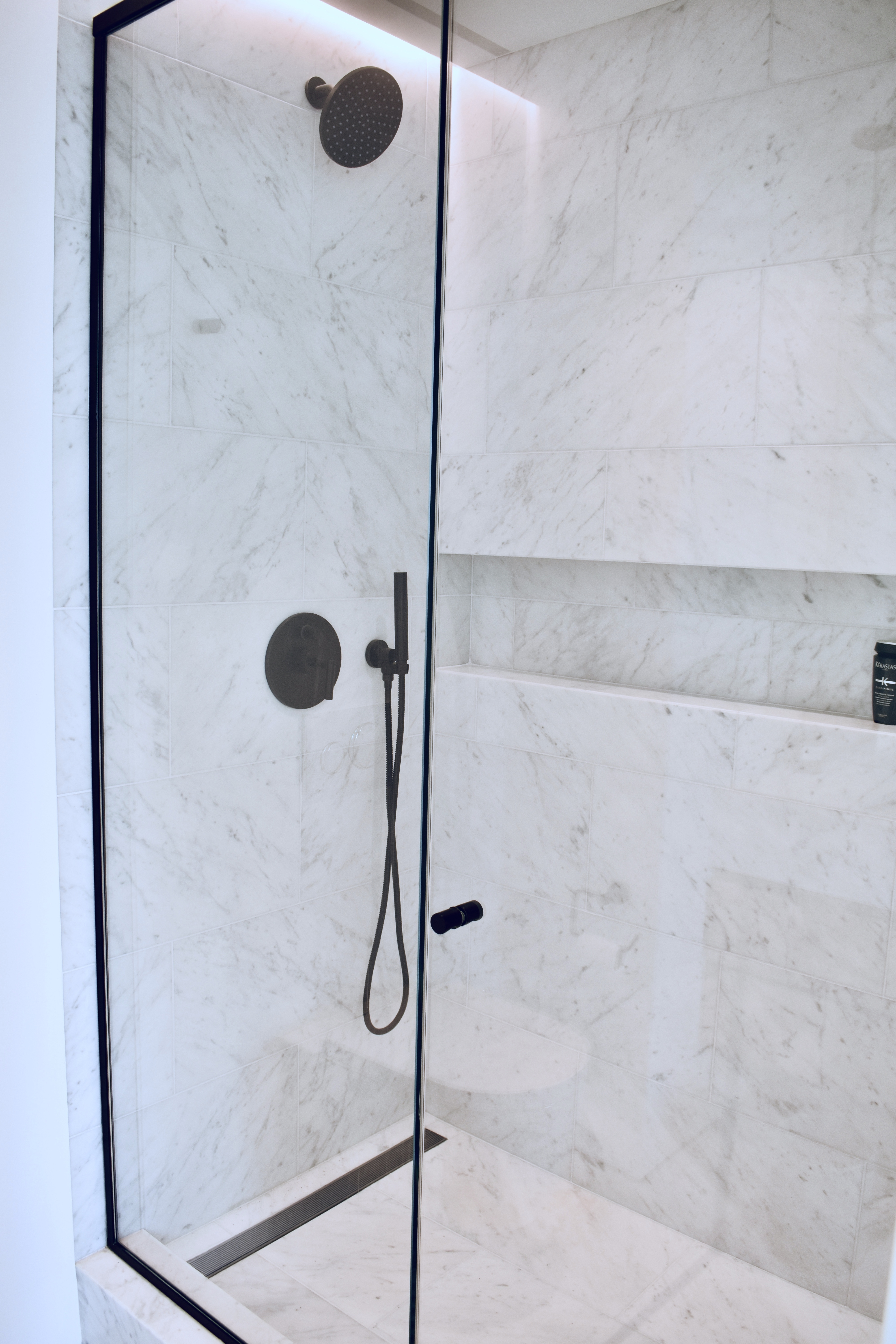 Downtown Marble Shower