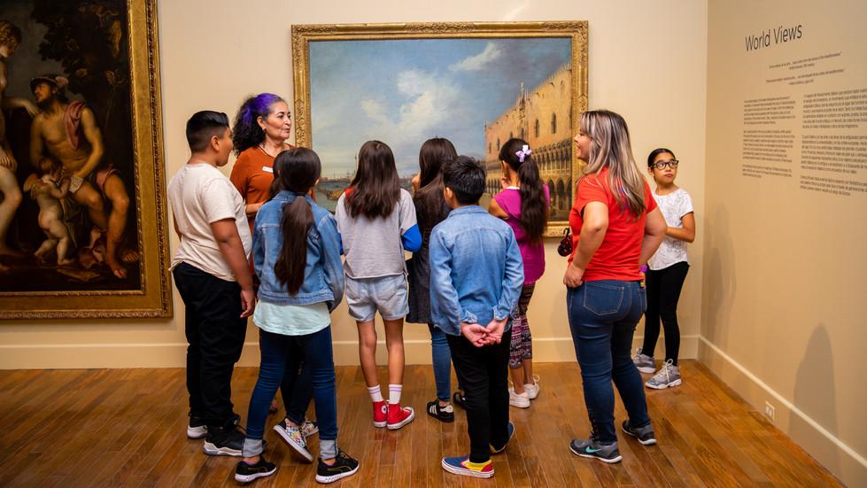 El Paso Musuem of Art School Tour