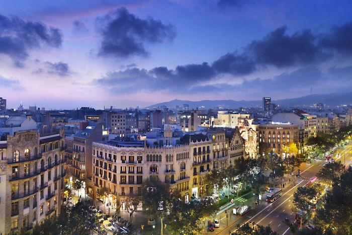 Barcelona, Spain: The Mandarin Oriental