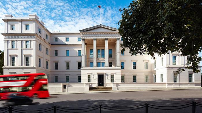 London, England: The Lanesborouh Hotel
