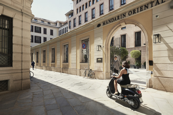 Milan, Italy: Mandarin Oriental