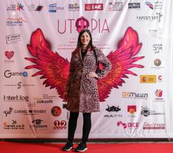 Utopia 2018 Opening Keren Elazari Photo