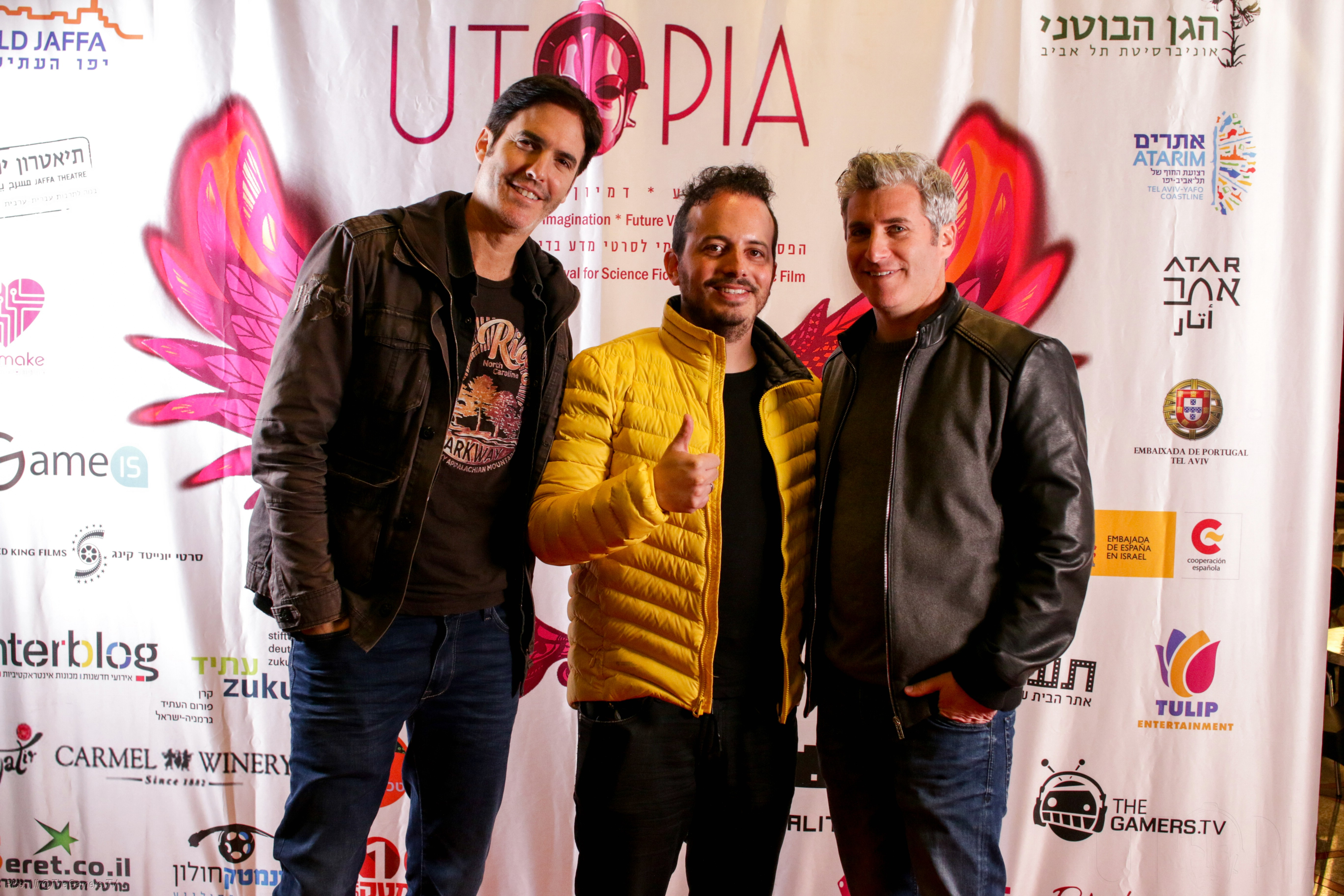 Utopia 2018 Parallel 23 LtR Doron Paz Is