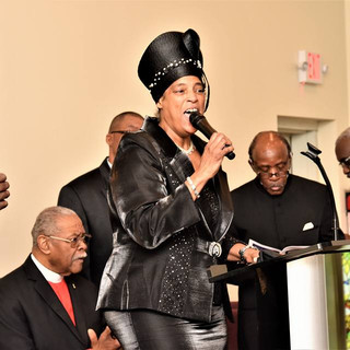 First Lady Singing