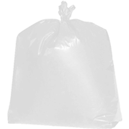 65 GALLON CLEAR TRASH CAN LINERS