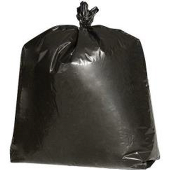 65 GALLON BLACK TRASH CAN LINERS