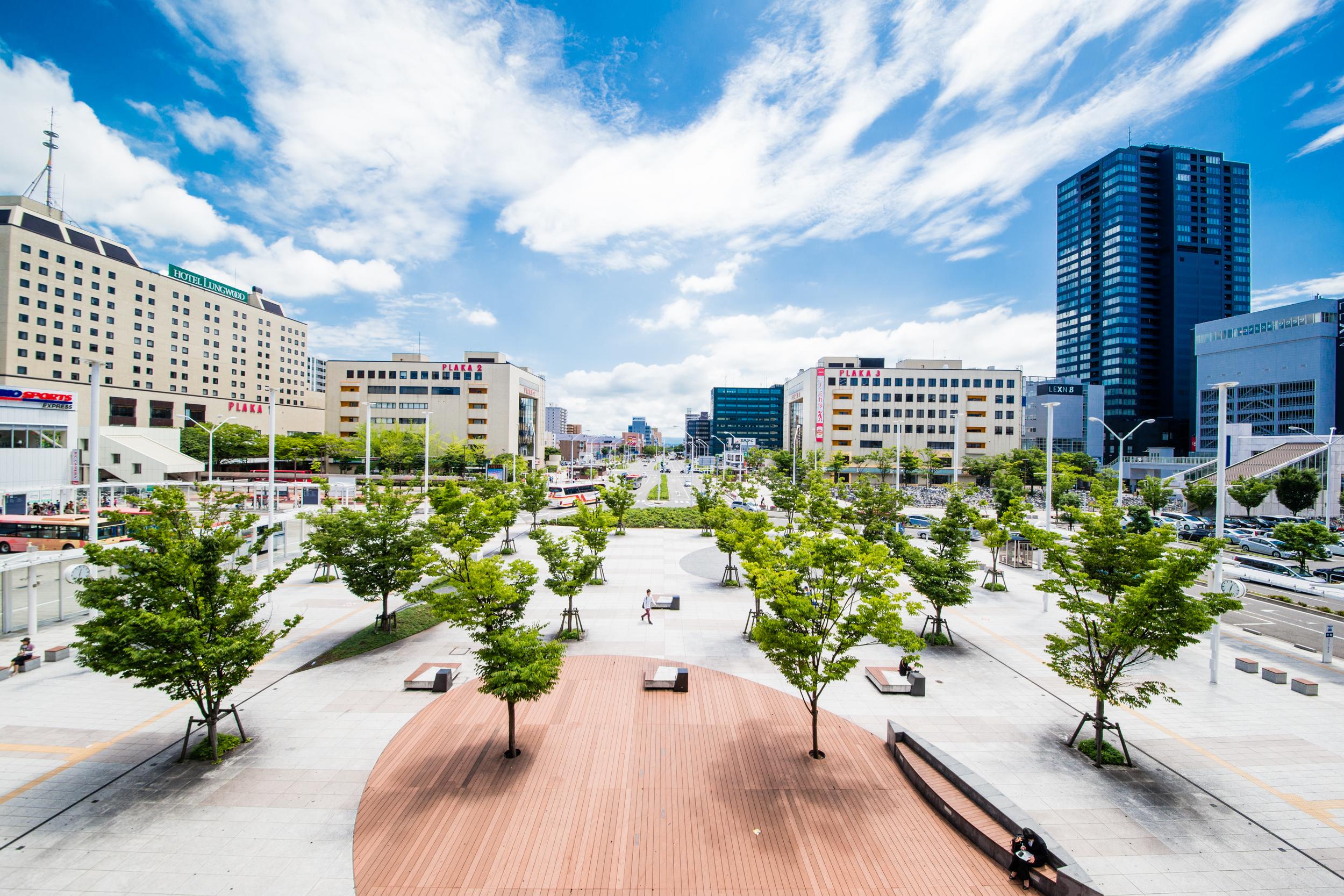 新潟県 新潟駅南口広場