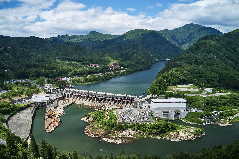 新潟県 鹿瀬ダム