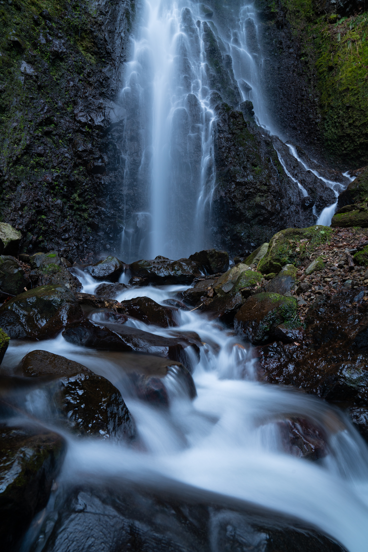 新潟県 善根の不動滝