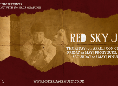 Announcing Red Sky July Tour