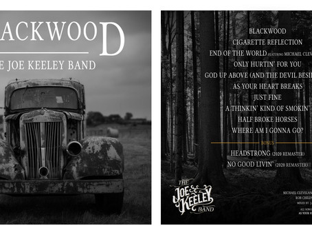 First Thoughts Review: The Joe Keeley Band Album 'Blackwood'