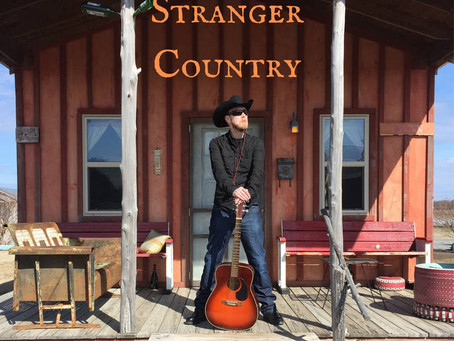 "First Thoughts Review - Howlin' Anton Bleak - ""Stranger Country"" Album"