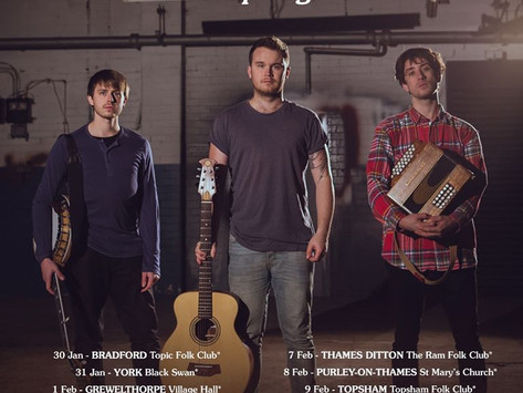 February Guide to Gigs.....UPDATED