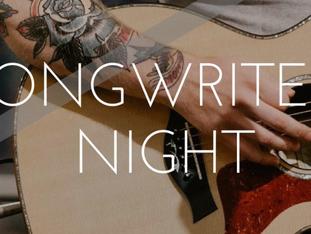 Songwriters Night Review