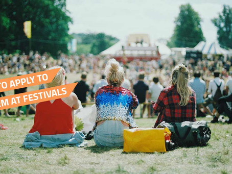 FAQ's - Some Hints & Tips To Help You When Applying For Festivals