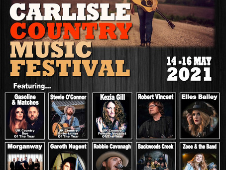 NEW - All British Country Music Festival Comes To Carlisle in May 2021