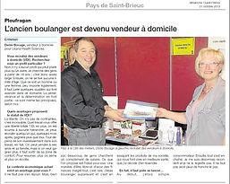 Denis Bocage boulanger pâtissier devenu VDI