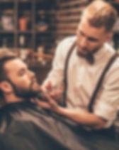 Men's upcale barbershop