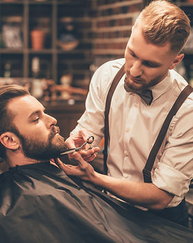 Men's upcale barbershop