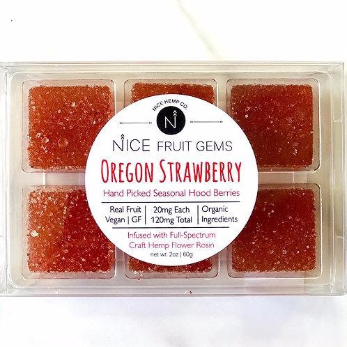Oregon Strawberry Fruit Gems